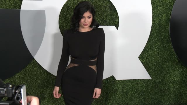 kylie jenner attends chateau marmont on december 03, 2015 in los angeles, california. - 2015 stock videos & royalty-free footage