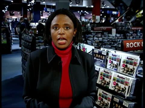 stockvideo's en b-roll-footage met kym marsh quits hear'say int i/c - 2002