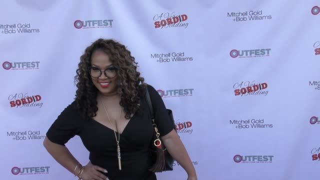 Kym Whitley at the Premiere Of Beard Collins Shores Productions' 'A Very Sordid Wedding' on August 14 2017 in Beverly Hills California