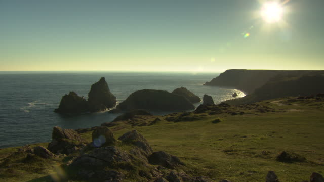 kynance cove, cornwall - cornwall england stock videos & royalty-free footage