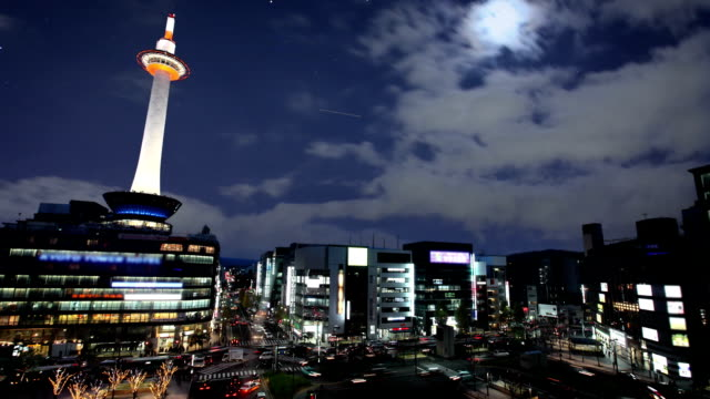kyoto station, japan - kyoto prefecture stock videos and b-roll footage