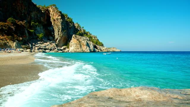 HD: Kyra Panagia beach, Karpathos island, Greece