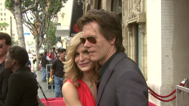Kyra Sedgwick and Kevin Bacon at the Kyra Sedgwick Honored With Star On The Hollywood Walk Of Fame at Hollywood CA
