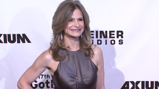 kyra sedgwick at the 17th annual gotham awards presented by ifp at steiner studios in brooklyn, new york on november 27, 2007. - independent feature project stock videos & royalty-free footage