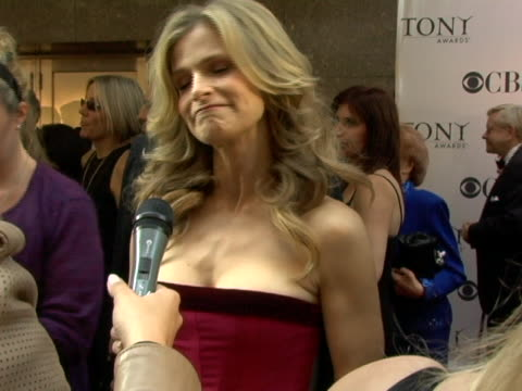 Kyra Sedgwick on being in awe of actors and what they do how crucial theater is and her husbands Tony pick at the 60th Annual Tony Awards at Radio...