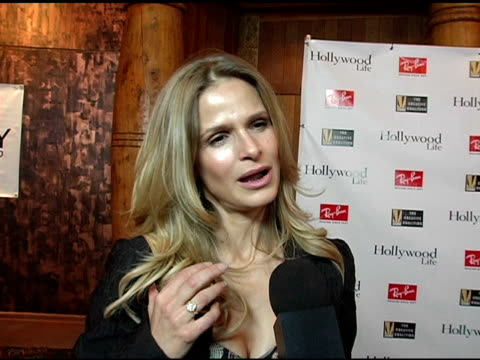 Kyra Sedgwick on husband Kevin Bacon at the Kevin Bacon Reception of the 2005 RayBan Visionary Award Hosted by Creative Coalition and Hollywood Life...