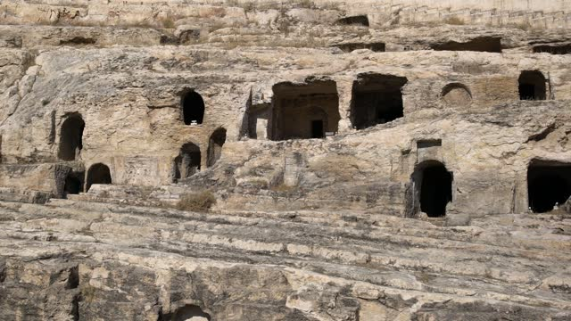 kızılkoyun necropolis is a roman-era cemetery dating from the 2nd-4th centuries ad in sanlıurfa, turkey on may 16, 2021. rome first solidified its... - lifestyles stock videos & royalty-free footage