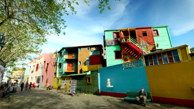 la boca, buenos aires, argentina - buenos aires stock videos and b-roll footage