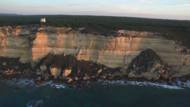 la breña y marismas del barbate natural park - rock strata stock videos & royalty-free footage