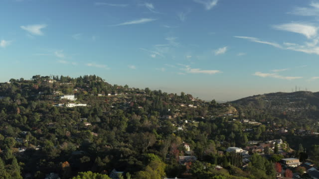 la canada and glendale urban sprawl, california - drone shot - glendale california stock videos & royalty-free footage