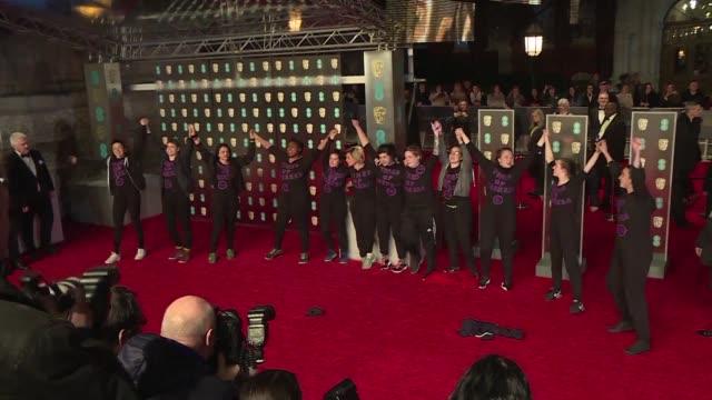 La ceremonia de los premios Bafta del cine britanico se celebro el domingo en Londres en un ambiente marcado por las recientes revelaciones de abusos...