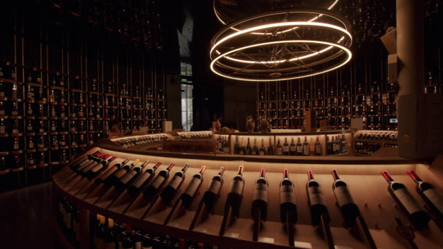 la cité du vin in bordeaux, france, on september 18, 2019. the bordeaux wine museum known as la cité du vin was named as one of the best museum in... - オペラ座点の映像素材/bロール