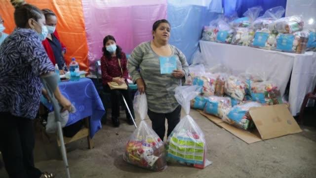 la cooperación canadiense ha destinado más de medio millón de dólares en ayuda para combatir la covid19 en sectores vulnerables de nicaragua honduras... - canadá stock videos & royalty-free footage