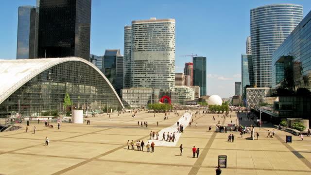 time-lapse de La Défense