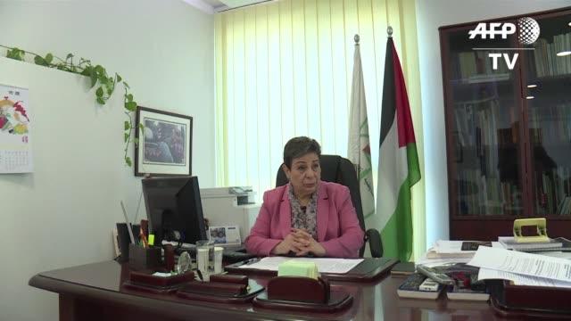 la dirigencia palestina reprocho la aprobacion en israel de una ley que permite la apropiacion de tierras privadas en cisjordania para la... - palestina stock videos and b-roll footage