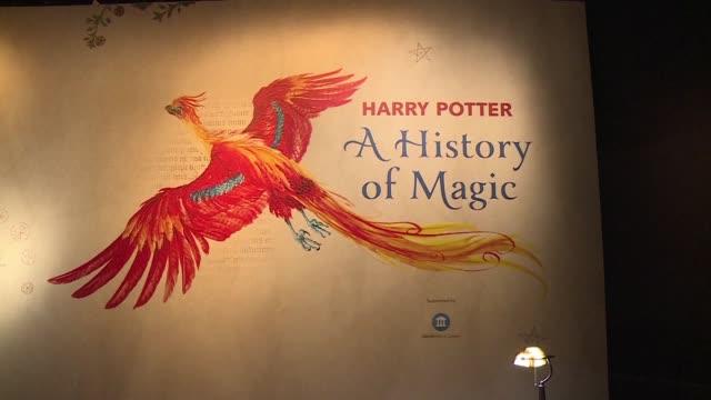 una historia de la magia de la biblioteca nacional britanica exhibe objetos nunca antes vistos de la autora de la famosa saga jk rowling ademas de... - biblioteca stock videos and b-roll footage