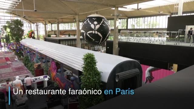 la felicita que acaba de abrir sus puertas en paris tiene opciones para todos los gustos - restaurante stock videos & royalty-free footage