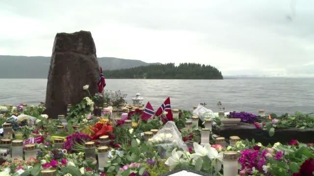 stockvideo's en b-roll-footage met la fiscalia noruega acuso formalmente al ultraderechista anders behring breivik de 'actos terroristas' y 'homicidios voluntarios' por los ataques que... - anders behring breivik