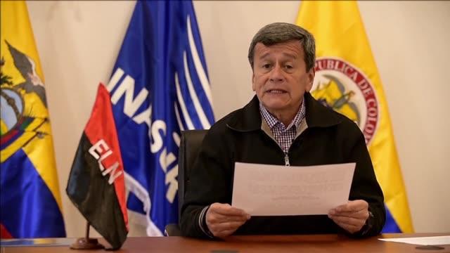 La guerrilla del Ejercito de Liberacion Nacional advirtio el martes que el alto al fuego en Colombia pactado con el gobierno esta en grave riesgo por...