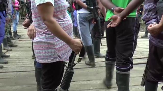 La guerrilla FARC tendra guarderias para que los hijos de los rebeldes sean atendidos en las zonas donde se concentran para dejar las armas y...