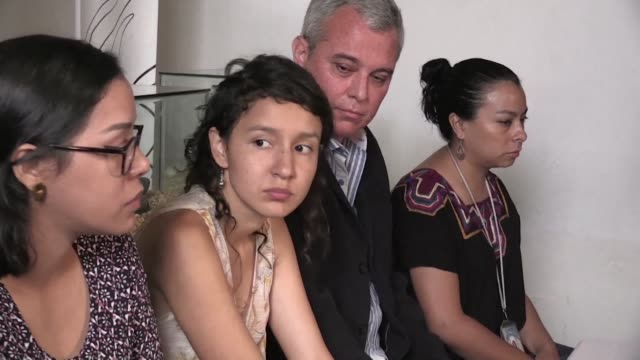 la hija de la ambientalista hondurena berta caceres asesinada en 2016 denuncio el lunes en guatemala una serie de obstaculos previo al inicio en... - hija stock videos & royalty-free footage