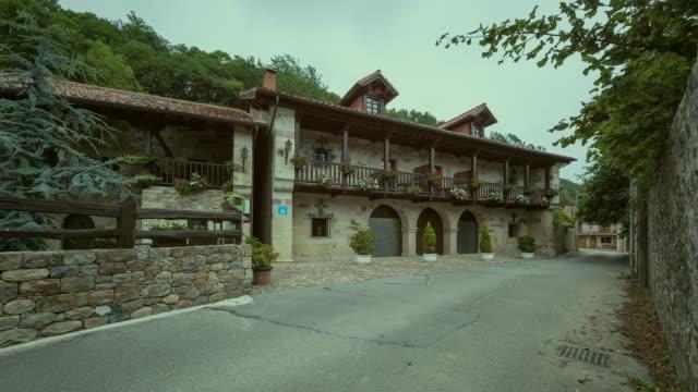 La Hondonada Hotel in Teran, Santander, Cantabria - Time lapse
