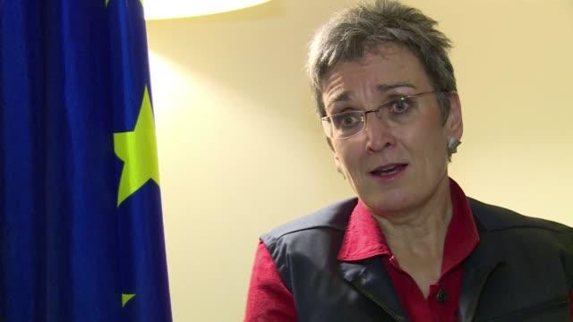 vídeos y material grabado en eventos de stock de la jefe de una mision de la union europea que observa las elecciones del proximo domingo en honduras ultike lunacek advirtio este martes que hay... - fraude