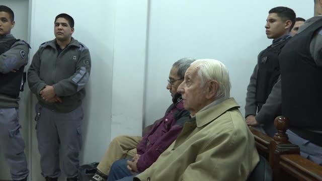 la justicia argentina condeno a 25 y 12 anos de carcel a tres exmilitares acusados por la desaparicion de la hija embarazada y el yerno de la actual... - hija stock videos & royalty-free footage