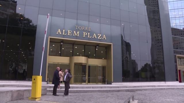 la justicia argentina ordeno el allanamiento de las oficinas de la brasilena odebrecht en buenos aires el miercoles - acanthaceae stock videos & royalty-free footage