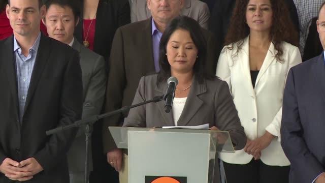 La justicia peruana continuara hasta por 36 meses la investigacion en contra de Keiko Fujimori hija del expresidente Alberto Fujimori y su esposo...