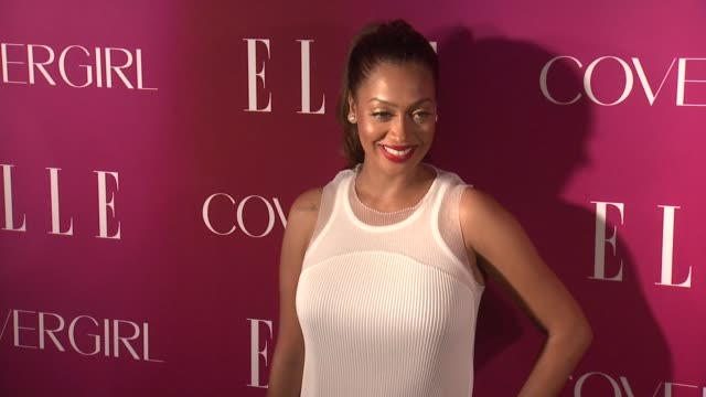 la la anthony 4th annual elle women in music celebration arrivals at the edison ballroom on april 10 2013 in new york new york - edison ballroom stock videos & royalty-free footage