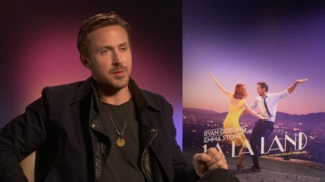 'la la land' film ryan gosling interview 'la la land' film ryan gosling interview england london int ryan gosling interview sot no idea film would be... - ryan gosling stock videos and b-roll footage