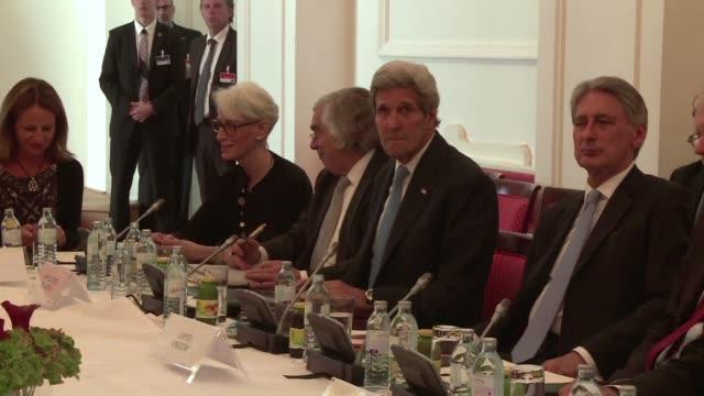 la larga negociacion entre iran y las grandes potencias por el programa nuclear irani entro en su fase final este lunes en una apretada carrera para... - día stock videos & royalty-free footage