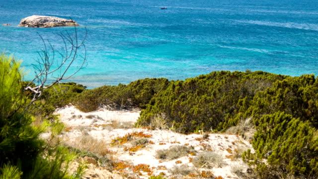 la maddalena island in summer - sardinia stock videos & royalty-free footage