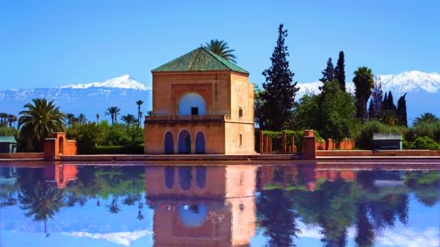 vidéos et rushes de la menara marrakesh - destination de voyage