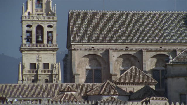 cu, la mezquita cathedral, high section, cordoba, andalucia, spain - mesquita stock videos & royalty-free footage