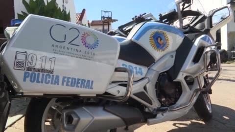 vídeos y material grabado en eventos de stock de la ministra de seguridad argentina patricia bullrich aseguro el viernes que su pais esta preparado para recibir la cumbre del g20 a finales de... - equipo de seguridad
