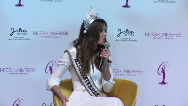 La Miss Universo colombiana Paulina Vega descarto reunirse con la guerrilla de las FARC que la invito a Cuba para hablar del proceso de paz con el...