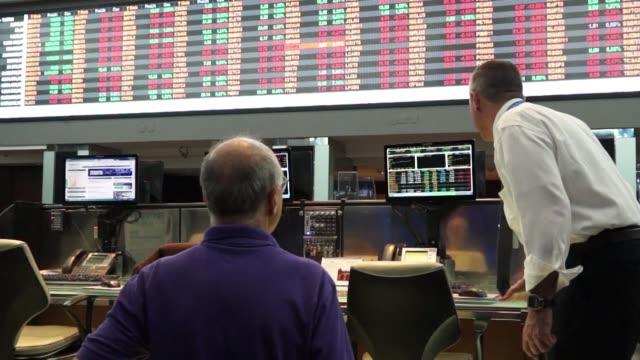 la ocde agravo el jueves sus previsiones sobre la recesion de brasil que sera este ano de 4% a causa de la incertidumbre politica y de la elevada... - oeec video stock e b–roll