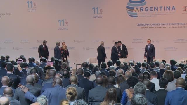 La OMC abrio el domingo en Buenos Aires su conferencia bianual cuando su ideal de libre comercio esta bajo el fuego de Estados Unidos que fue otrora...
