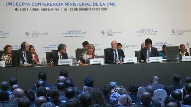 La Organizacion Mundial de Comercio concluyo una reunion ministerial el miercoles sin nada significativo que apuntar un resultado pobre para su...
