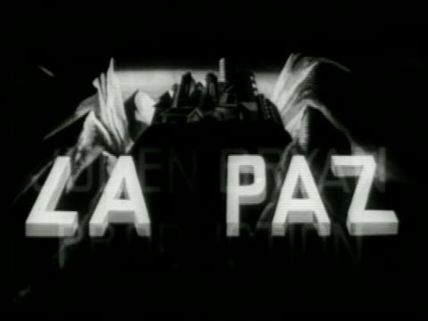 stockvideo's en b-roll-footage met la paz - 1 of 16 - la paz filmtitel