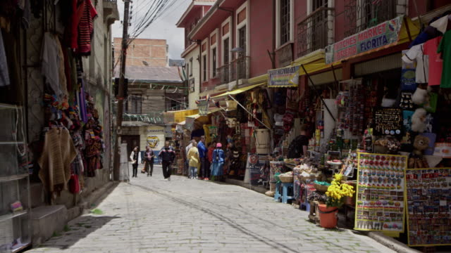 vidéos et rushes de la paz - bolivia - amérique du sud