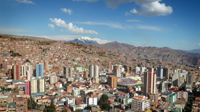 la paz, bolivia - la paz bolivia stock videos & royalty-free footage