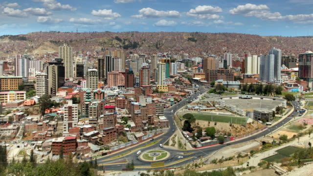 la paz, bolivia - bolivia stock videos & royalty-free footage