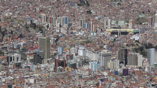 la paz, bolivia. - south america stock videos and b-roll footage