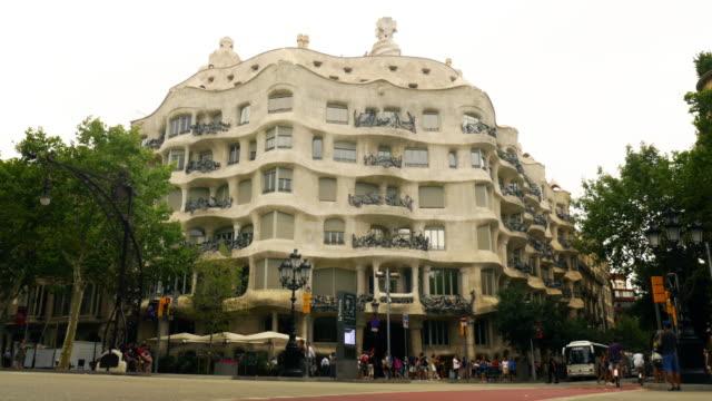 La Pedrera in Barcelona