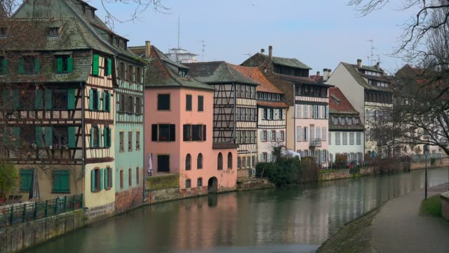 La Petite France and Ill River, Grande Ile, UNESCO World Heritage Site, Strasbourg, Alsace, Grand Est, France, Europe