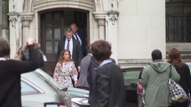 la princesa haya una de las esposas del emir de dubai mohammed bin rached almaktum pidio el martes medidas de proteccion a la justicia britanica para... - hija stock videos & royalty-free footage