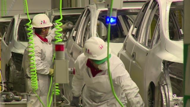 vídeos y material grabado en eventos de stock de la pujante industria automotriz de mexico logra rebasar a japon como el segundo mayor exportador de automoviles a estados unidos en los primeros tres... - ee.uu